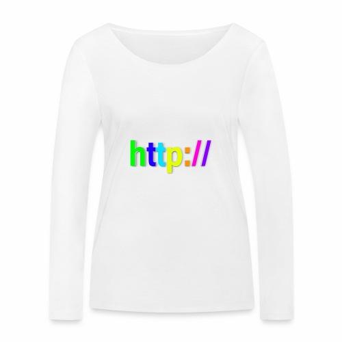 T-SHIRT Potocollo HTTP - Maglietta a manica lunga ecologica da donna di Stanley & Stella