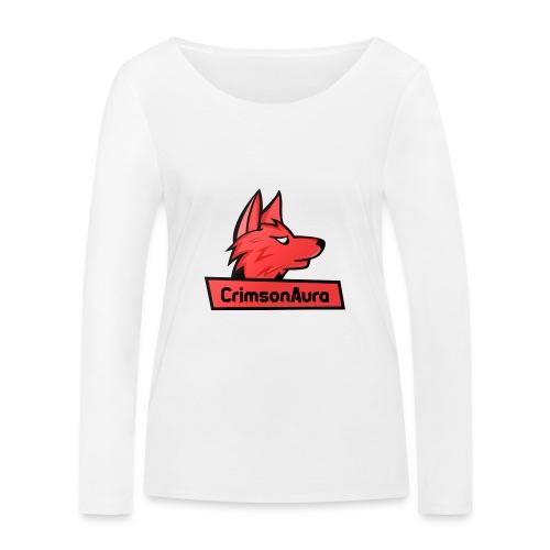 CrimsonAura Logo Merchandise - Women's Organic Longsleeve Shirt by Stanley & Stella