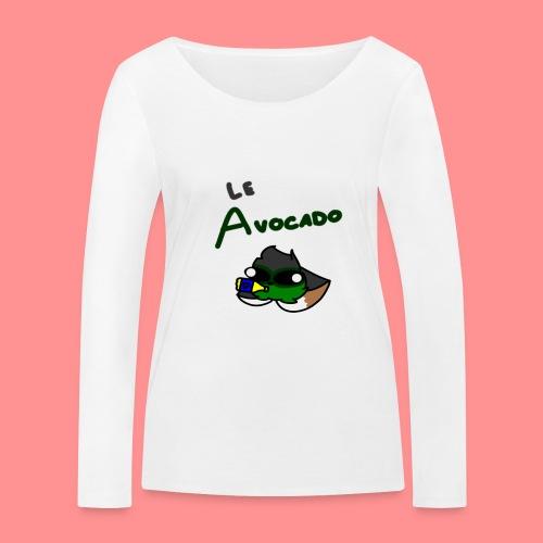 Le Avocado - Women's Organic Longsleeve Shirt by Stanley & Stella