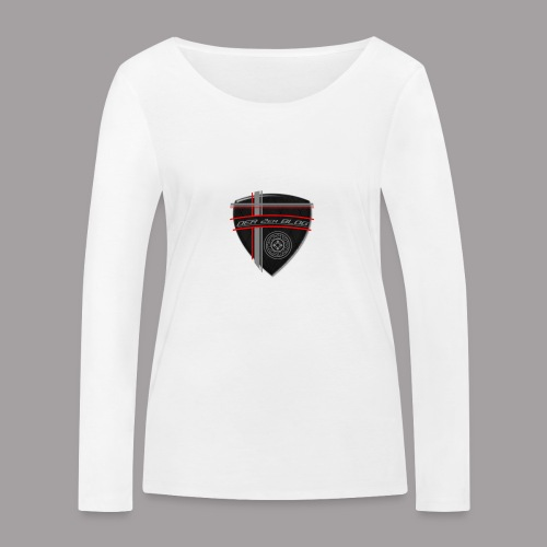 2erblogLogo blank png - Frauen Bio-Langarmshirt von Stanley & Stella