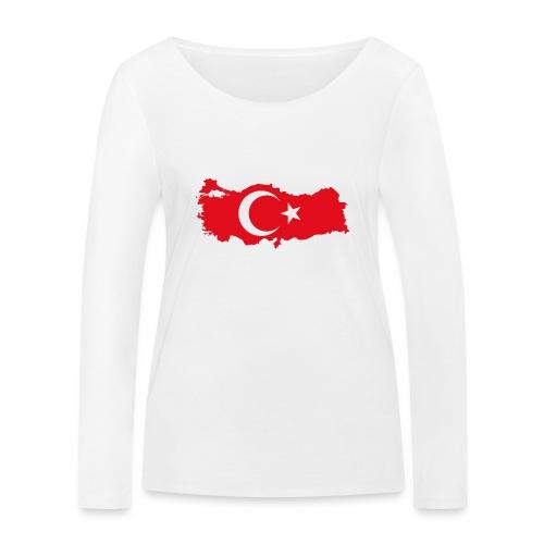 Tyrkern - Økologisk Stanley & Stella langærmet T-shirt til damer