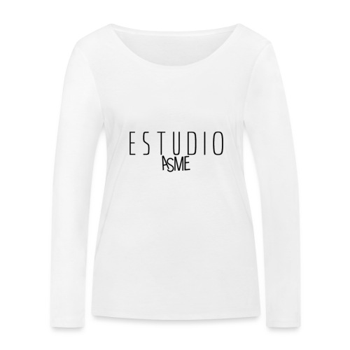 Accesorios de estudio asme - Camiseta de manga larga ecológica mujer de Stanley & Stella