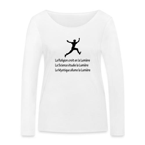 Lumière Religion Science Mystique - T-shirt manches longues bio Stanley & Stella Femme
