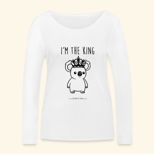 Koala king - T-shirt manches longues bio Stanley & Stella Femme