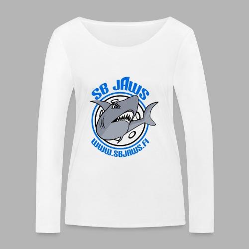 SB JAWS - Stanley & Stellan naisten pitkähihainen luomupaita