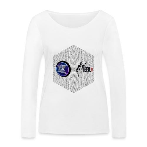 disen o dos canales cubo binario logos delante - Women's Organic Longsleeve Shirt by Stanley & Stella