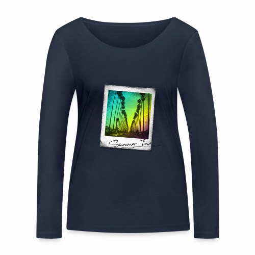 Summer Time - Women's Organic Longsleeve Shirt by Stanley & Stella