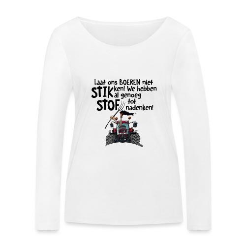 0505 stikstof - Vrouwen bio shirt met lange mouwen van Stanley & Stella