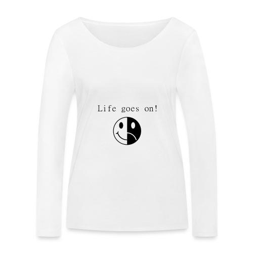 Life goes on - Ekologisk långärmad T-shirt dam från Stanley & Stella