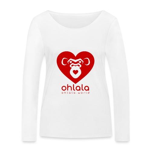 Ohlala LOVE - T-shirt manches longues bio Stanley & Stella Femme