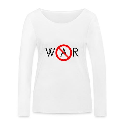 TIAN GREEN - No War - Frauen Bio-Langarmshirt von Stanley & Stella