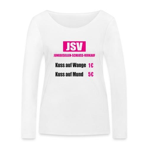 Junggesellen Schlussverkauf JGA - Frauen Bio-Langarmshirt von Stanley & Stella
