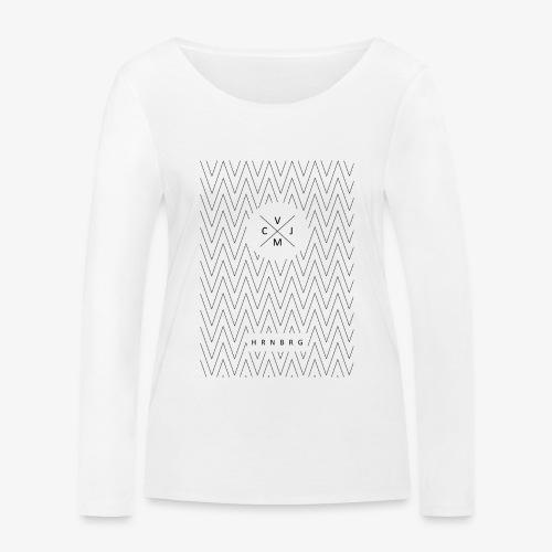 Zickzack - Frauen Bio-Langarmshirt von Stanley & Stella