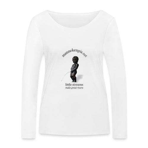 BXL ♀♂ | mannekenpis - T-shirt manches longues bio Stanley & Stella Femme