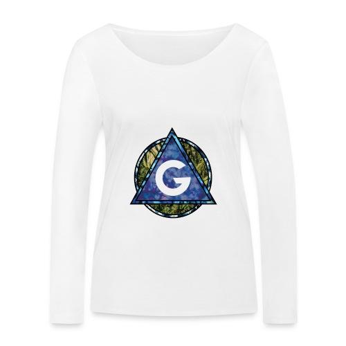 Grime Apparel Geo Print. - Women's Organic Longsleeve Shirt by Stanley & Stella
