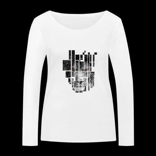Pixel Lion Tattoo Inspire - Women's Organic Longsleeve Shirt by Stanley & Stella