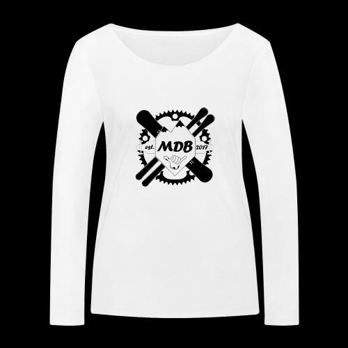 Madabe Logo Shirt - Frauen Bio-Langarmshirt von Stanley & Stella