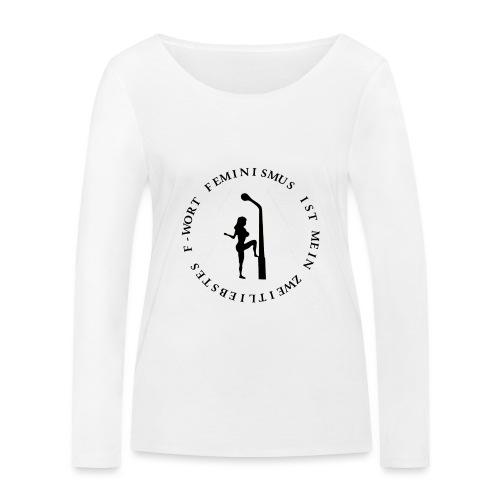 Feminismus - Frauen Bio-Langarmshirt von Stanley & Stella