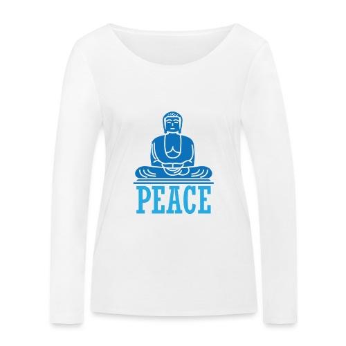 Buddha Meditating. - Women's Organic Longsleeve Shirt by Stanley & Stella