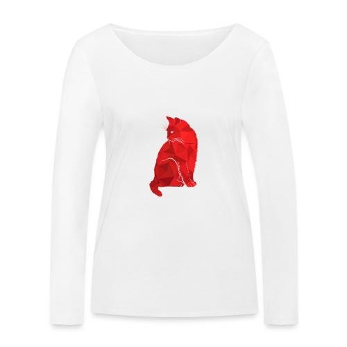 Cat - Frauen Bio-Langarmshirt von Stanley & Stella