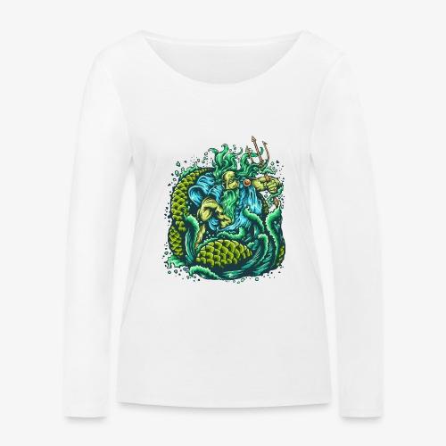 Dieu de la mer - T-shirt manches longues bio Stanley & Stella Femme