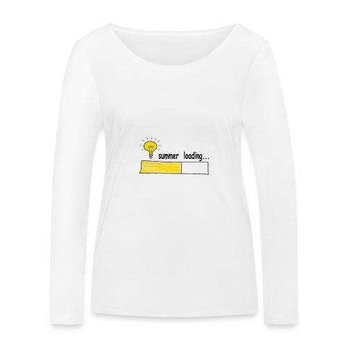 Summer Loading - Frauen Bio-Langarmshirt von Stanley & Stella