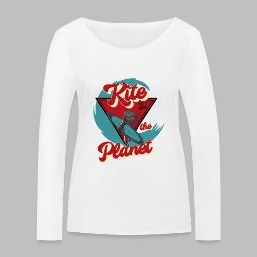 ktp salty sisters surf - Frauen Bio-Langarmshirt von Stanley & Stella