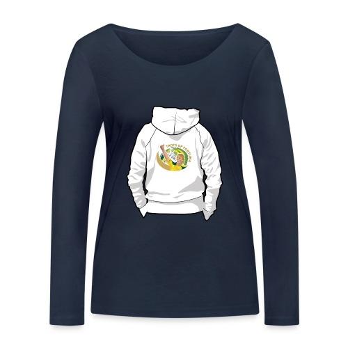 hoodyback - Vrouwen bio shirt met lange mouwen van Stanley & Stella