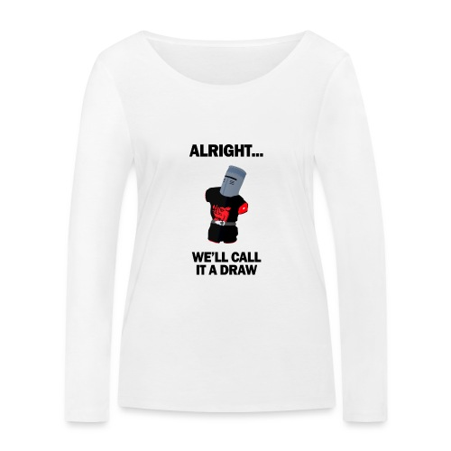 The Black Knight - Women's Organic Longsleeve Shirt by Stanley & Stella