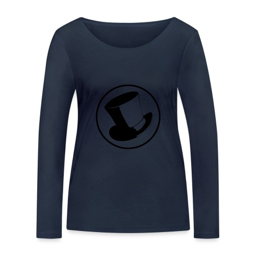GLASS HAT - Camiseta de manga larga ecológica mujer de Stanley & Stella