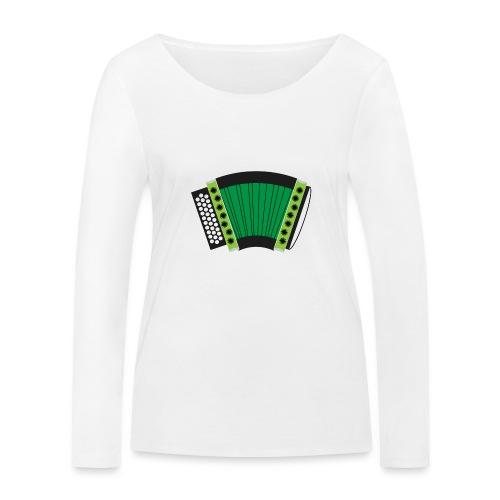 Schwyzerörgeli grün - Frauen Bio-Langarmshirt von Stanley & Stella