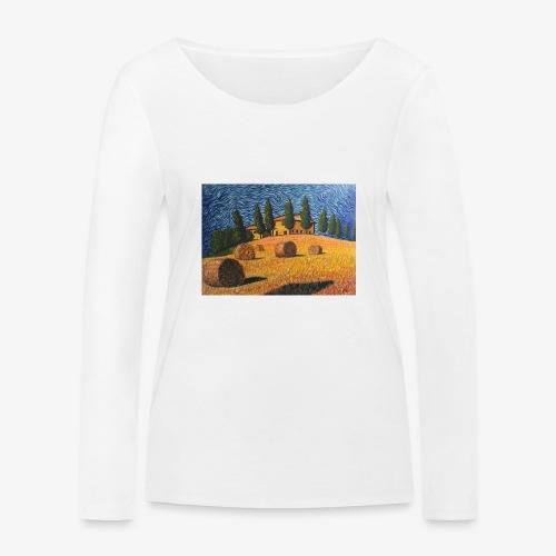 tuscany - Women's Organic Longsleeve Shirt by Stanley & Stella