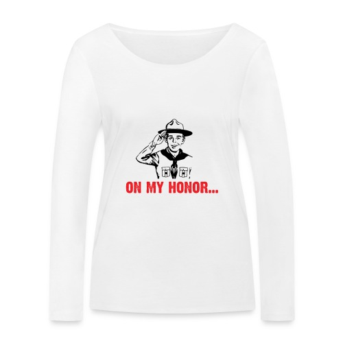 On my Honor... - T-shirt manches longues bio Stanley & Stella Femme