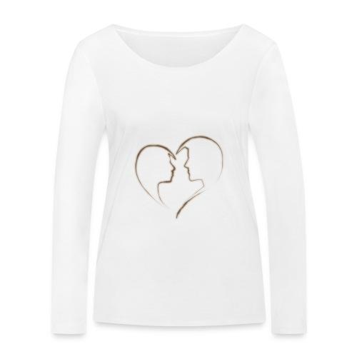 loving - Frauen Bio-Langarmshirt von Stanley & Stella