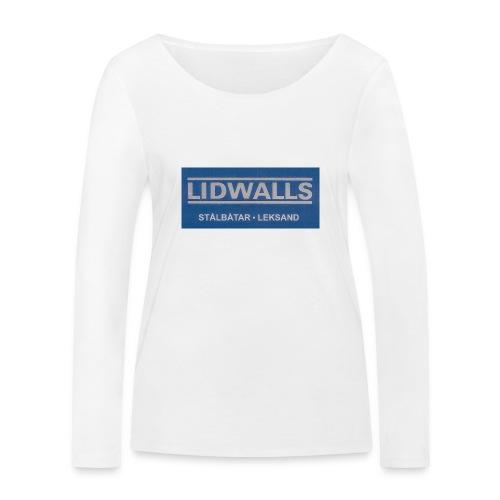 Lidwalls Stålbåtar - Ekologisk långärmad T-shirt dam från Stanley & Stella