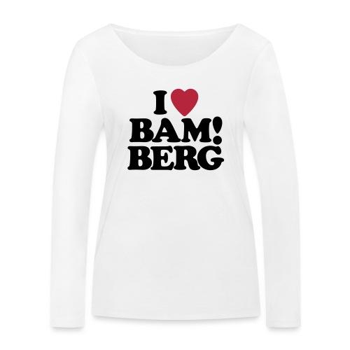 I Love Bamberg 2018 - Frauen Bio-Langarmshirt von Stanley & Stella