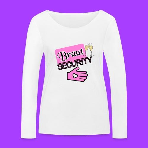 Braut SECURITY - Frauen Bio-Langarmshirt von Stanley & Stella