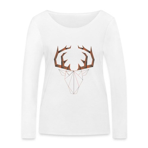 LOW ANIMALS POLY - T-shirt manches longues bio Stanley & Stella Femme