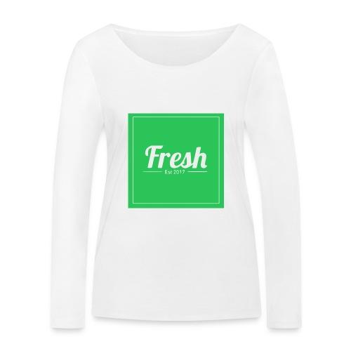 Green square - Women's Organic Longsleeve Shirt by Stanley & Stella