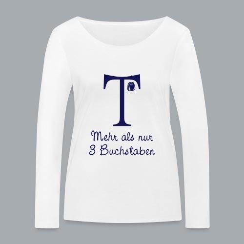 Tea-Shirt - Frauen Bio-Langarmshirt von Stanley & Stella