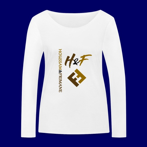 h&F luxury style - Maglietta a manica lunga ecologica da donna di Stanley & Stella
