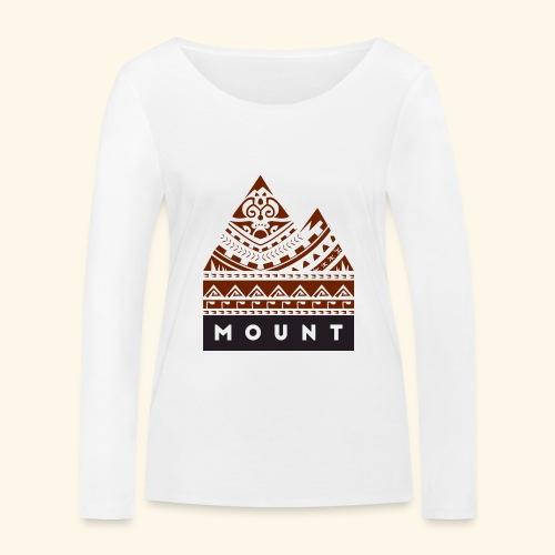 Mountains of the Heart by Te-Moana - Frauen Bio-Langarmshirt von Stanley & Stella
