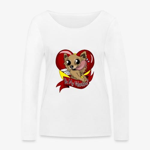 Engla Be my valentine? - Ekologisk långärmad T-shirt dam från Stanley & Stella