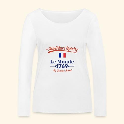 Adventure Spirit France - Frauen Bio-Langarmshirt von Stanley & Stella