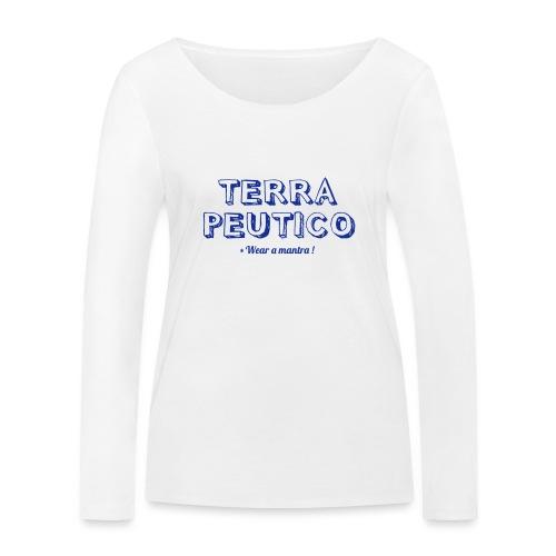 TERRAPEUTICO - Maglietta a manica lunga ecologica da donna di Stanley & Stella