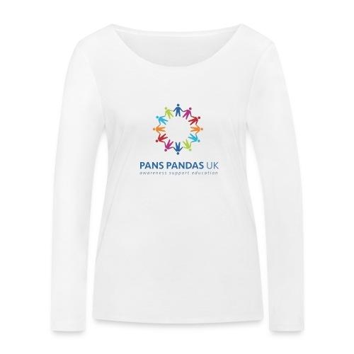 PANS PANDAS UK - Women's Organic Longsleeve Shirt by Stanley & Stella