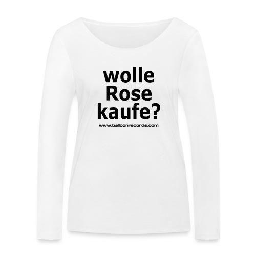 Wolle Rose Kaufe - Frauen Bio-Langarmshirt von Stanley & Stella