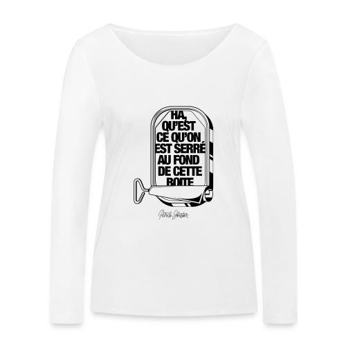 Les Sardines - T-shirt manches longues bio Stanley & Stella Femme
