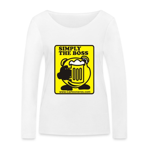 Simply the Boss - Women's Organic Longsleeve Shirt by Stanley & Stella