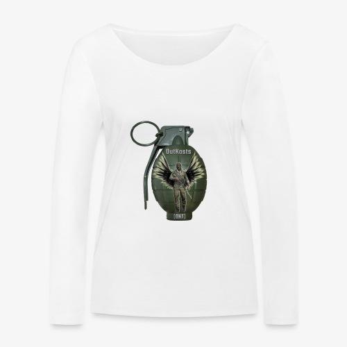 grenadearma3 png - Women's Organic Longsleeve Shirt by Stanley & Stella
